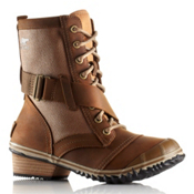 Sorel Slimboot Lace Womens Boots, Autumn Bronze, medium