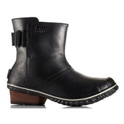 Sorel Slimboot Pull On Womens Boots, Black, 256