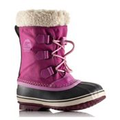 Sorel Yoot Pac Nylon Girls Boots, Very Berry, medium