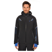 Volkl Black Jack Mens Insulated Ski Jacket, Black, medium