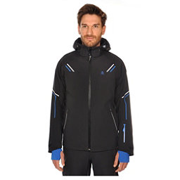 Volkl Black Jack Mens Insulated Ski Jacket, Black, 256