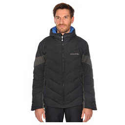 Volkl Yellow Down Mens Insulated Ski Jacket, Black, 256
