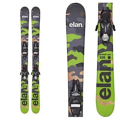Elan Pinball Pro Kids Skis with 7.5 QT Bindings, , viewer