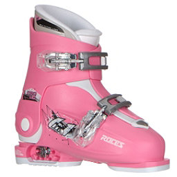 Roces Idea Up G Girls Ski Boots, Deep Pink (2 Buckle), 256