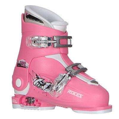 Roces Idea Up G Girls Ski Boots, Deep Pink, viewer
