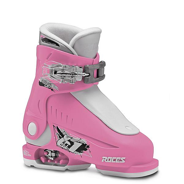 Roces Idea Up G Girls Ski Boots, Deep Pink, 600