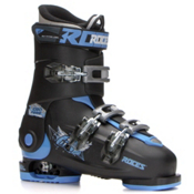 Roces Idea Free Kids Ski Boots, Black-Blue, medium