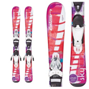 Elan Sky Kids Skis with EL 4.5 QT Bindings 2016, , medium