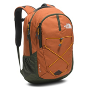 The North Face Jester Backpack 2017, Gingerbread Brown-Citrine Yell, medium
