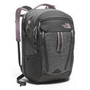 The North Face Surge Womens Backpack 2017, Asphalt Grey Heather-Quail Grey, medium