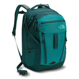 The North Face Surge Womens Backpack 2018, Harbor Blue-Atlantic Deep Blue, 256