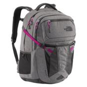 The North Face Recon Womens Backpack 2016, Zinc Greyheather-Dramatic Plum, medium