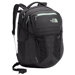 The North Face Recon Womens Backpack, Asphalt Grey Dark Heather-Subt, 256