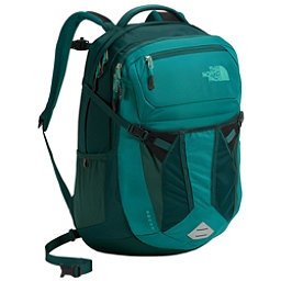 The North Face Recon Womens Backpack 2018, Harbor Blue-Atlantic Deep Blue, 256