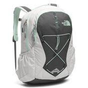 The North Face Jester Womens Backpack 2018, Lunar Ice Grey-Subtle Green, medium
