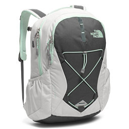 The North Face Jester Womens Backpack 2018, Lunar Ice Grey-Subtle Green, 256
