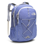 The North Face Jester Womens Backpack 2017, Stellar Blue Heather-Arctic Ice, medium
