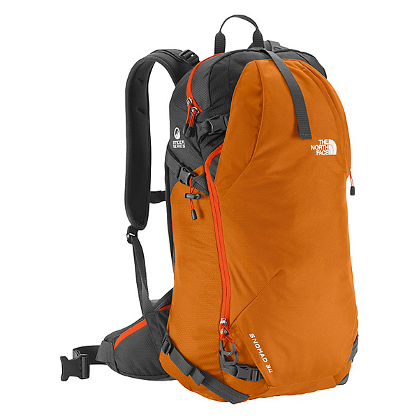 The North Face Snomad 34 Backpack 2017, Pumpkin Spice-Acrylic Orange, 600