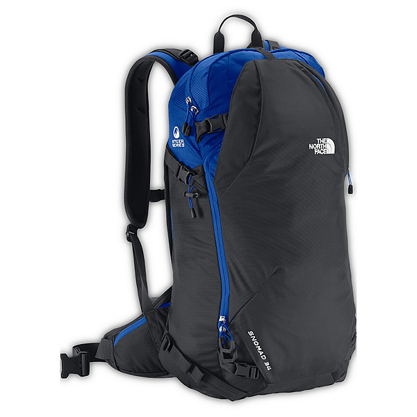 The North Face Snomad 34 Backpack 2017, Asphalt Grey-Bomber Blue, 600