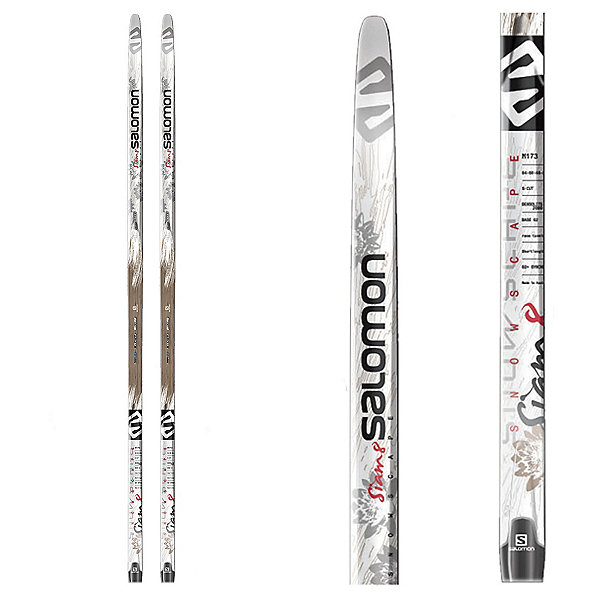 Salomon Snowscape 8 Siam Cross Country Skis, , 600