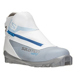 Salomon Siam 7 Womens SNS Cross Country Ski Boots, Grey-Blue, 256