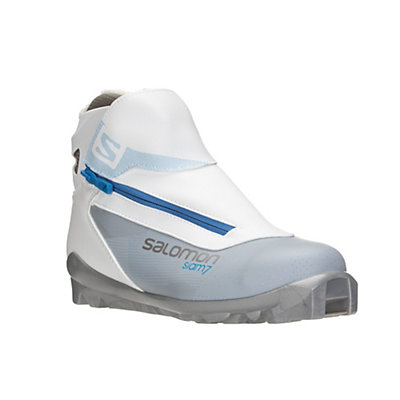 Salomon Siam 7 Womens SNS Cross Country Ski Boots, Grey-Blue, viewer