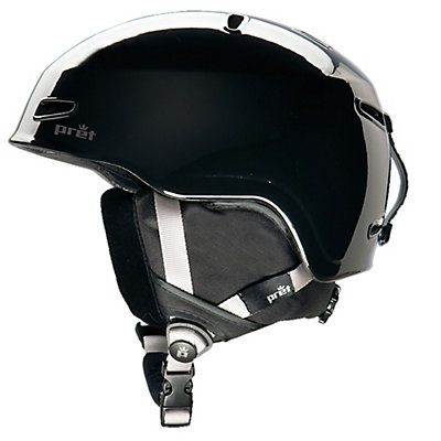 Pret Kid Lid Kids Helmet, Black, viewer