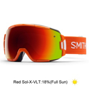 Smith Vice Goggles 2016, Orange-Red Sol X Mirror, medium