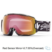 Smith Vice Goggles 2016, Eaves Type-Red Sensor Mirror, medium