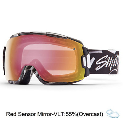 Smith Vice Goggles, Adventure Ii-Red Sol X Mirror, viewer