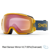 Smith Vice Goggles 2016, Mustard Conditions-Red Sensor, medium
