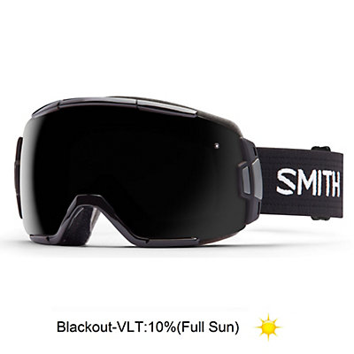 Smith Vice Goggles 2017, Black-Blackout, viewer