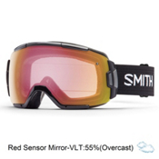 Smith Vice Goggles 2017, Black-Red Sensor Mirror, medium