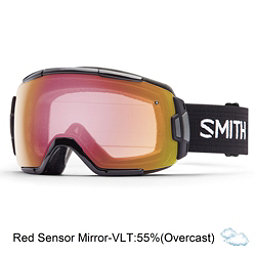 Smith Vice Goggles 2017, Black-Red Sensor Mirror, 256