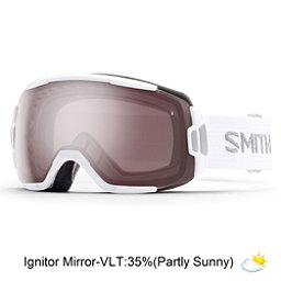 Smith Vice Goggles 2017, White-Ignitor Mirror, 256