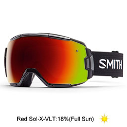 Smith Vice Goggles 2017, Black-Red Sol X Mirror, 256