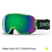 Smith Vice Goggles 2017, Reactor-Green Sol X Mirror, medium