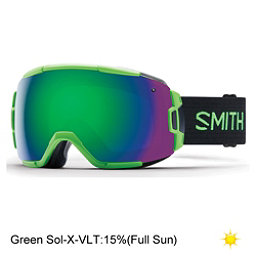 Smith Vice Goggles 2017, Reactor-Green Sol X Mirror, 256