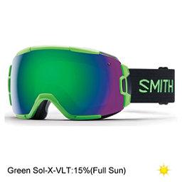 Smith Vice Goggles, Reactor-Green Sol X Mirror, 256
