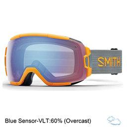 Smith Vice Goggles, Solar-Blue Sensor Mirror, 256