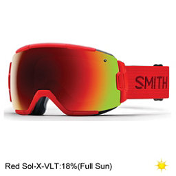 Smith Vice Goggles 2017, Fire-Red Sol X Mirror, 256