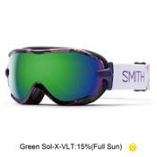 Smith Virtue Womens Goggles 2016, Ultraviolet Obscura-Green Sol, medium