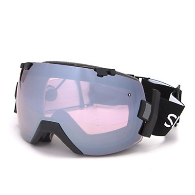 Smith I/OX Turbo Fan Goggles 2017, Black-Ignitor Mirror, viewer