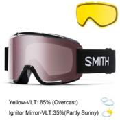 Smith Squad Goggles 2016, Black-Ignitor Mirror + Bonus Lens, medium