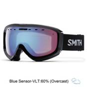 Smith Prophecy OTG Goggles 2016, Black-Blue Sensor Mirror, medium