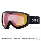 Smith Prophecy OTG Goggles 2016, Black-Red Sensor Mirror, medium
