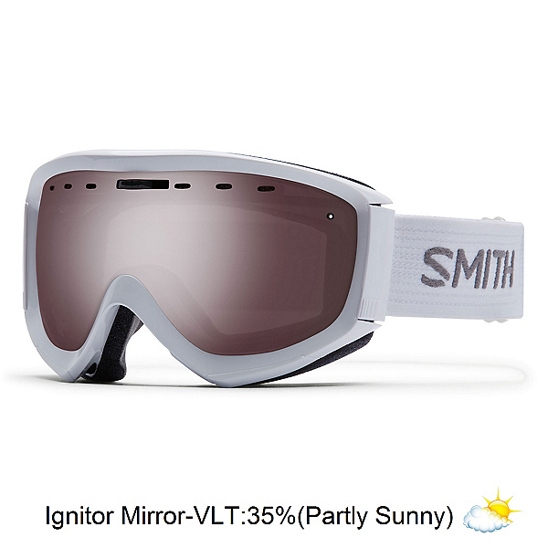 Smith Prophecy OTG Goggles, White-Ignitor Mirror, 600