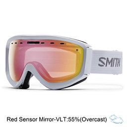 Smith Prophecy OTG Goggles, White-Red Sensor Mirror, 256