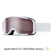 Smith Showcase Womens OTG Goggles, White Gbf-Ignitor Mirror, medium