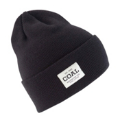 Coal The Uniform Hat, Solid Black, medium
